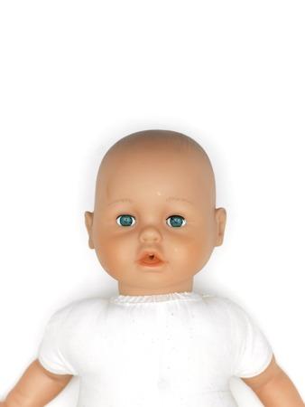 A close up shot of a girls doll Фото со стока