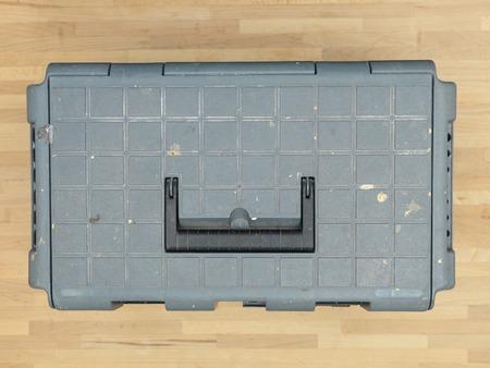 chrome vanadium: A close up shot of a tool box carry bag