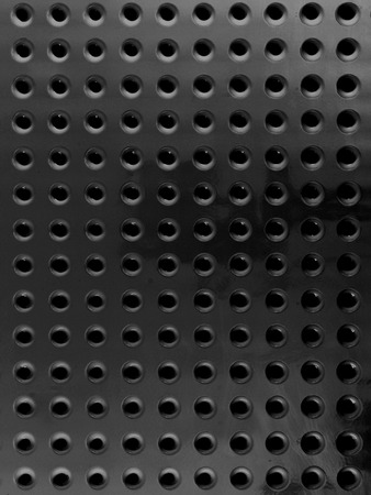 pegboard: A close up shot of a workshop peg board