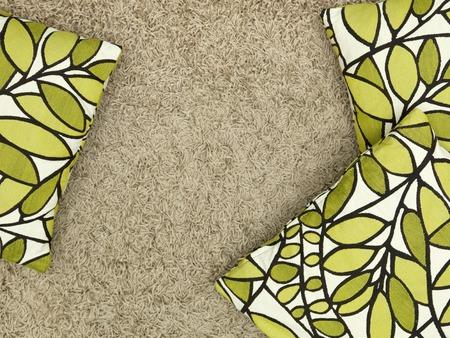 kanapa: A close up shot of couch cushions