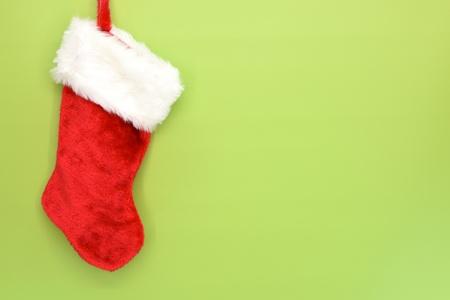 white stockings: A close up shot of christmas stocking