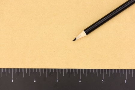 enumeration: A studio photo of stationery items up close