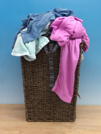 laundry pile: An abstract photo of traditional laundry items