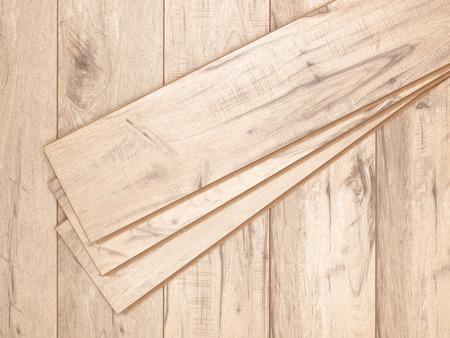 Een studio foto van hout laminaatvloer