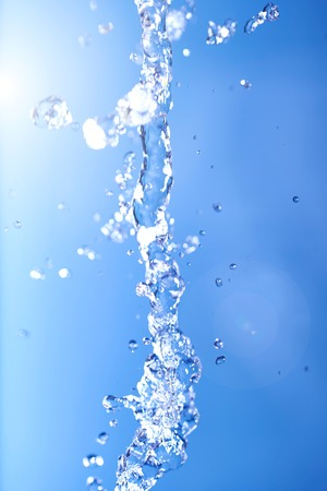 high speed: A studio photo of high speed water splash