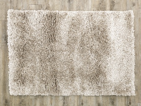 plush: A close up photo of a plush floor rug Stock Photo