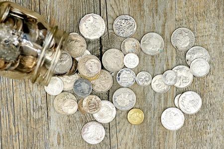 tax tips: A studio photo of a money jar