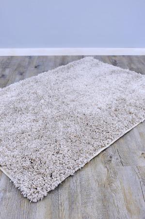 floor rug: A close up photo of a plush floor rug Stock Photo