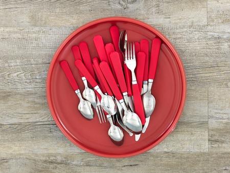 ware: A studio photo of dinner ware