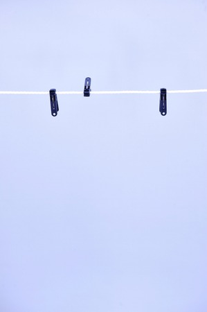 sully: A studio photo of a clothes line