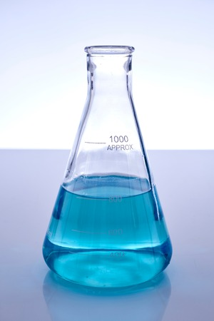 erlenmeyer: A studio photo of a Erlenmeyer Flask Stock Photo