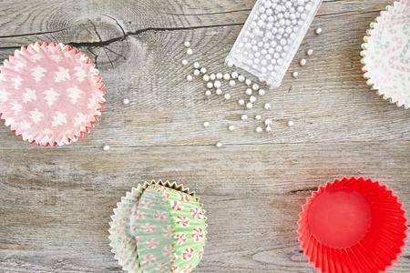decoracion de pasteles: Una foto del estudio de decoración de pasteles Foto de archivo