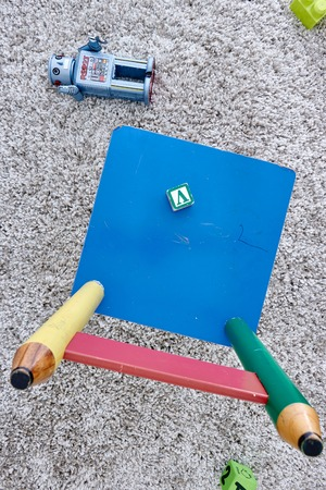 play time: A conceptual studio photo play time Stock Photo