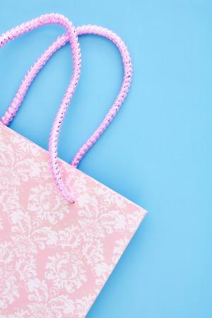 A studio photo of a shopping bag Stock Photo