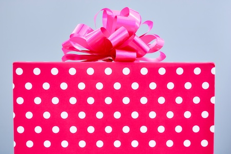 A studio photo of a gift box