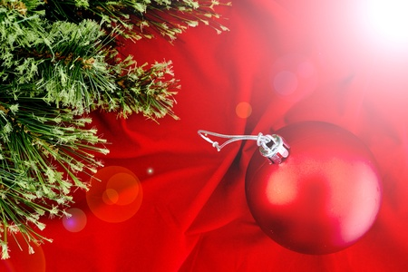 Cristmas: A close up photo of christmas decorations Stock Photo