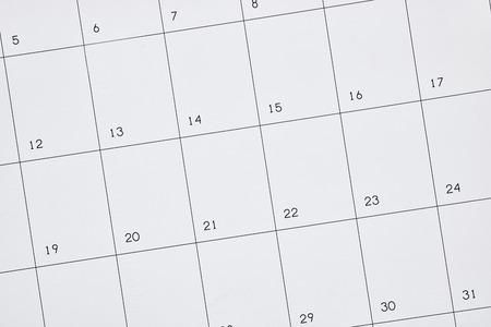 personal organiser: A studio photo of a business calendar