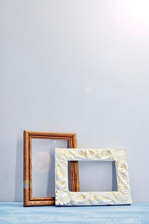 paper sheet: A studio photo of photo frames