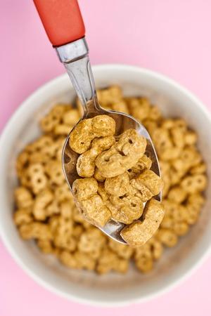 A studio photo of breakfast cereal