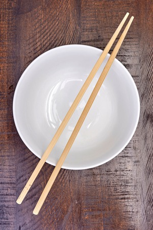 A studio photo of chop sticks