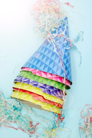 A studio photo of a party hat