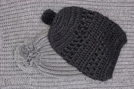 A studio photo of a woolen beanie