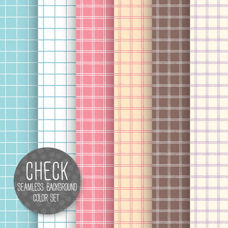 bedclothes: Check Seamless pattern