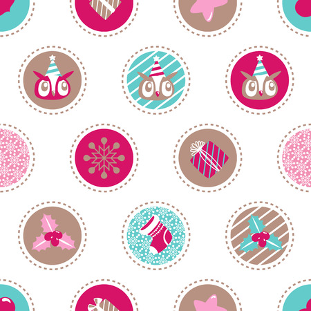 Christmas  background. Holiday  Vector