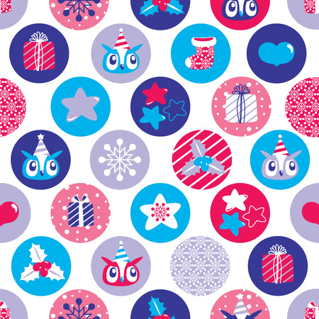 christmas wrapping paper: Christmas Seamless background