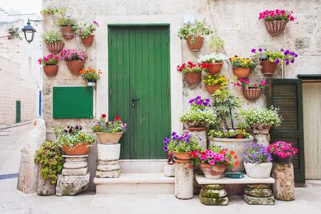 Lovely street, Monopoli, Italy