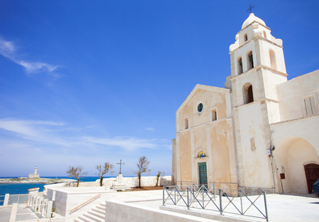 Church in Vieste, Italy photo