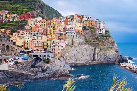 Manarola village, Italy photo