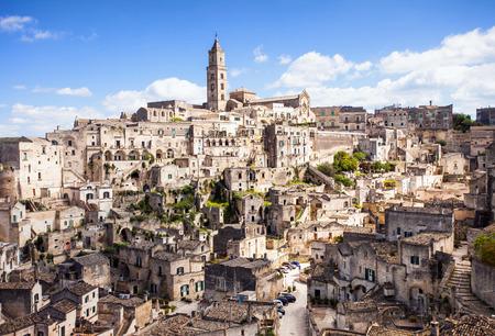 sassi: Matera old town, Basilicata, Italy