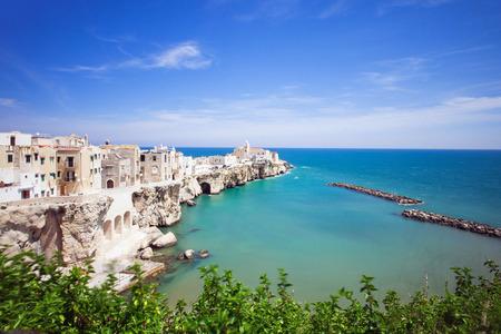 View of Vieste, Puglia, Italy