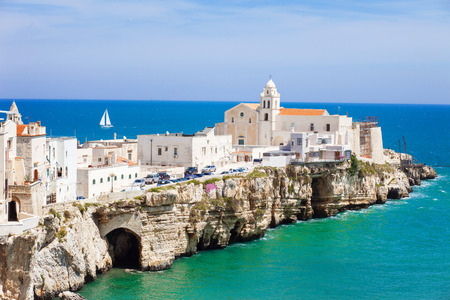 View of Vieste, Italy. Stock Photo - 54381016