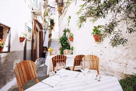 Italiaanse cafe