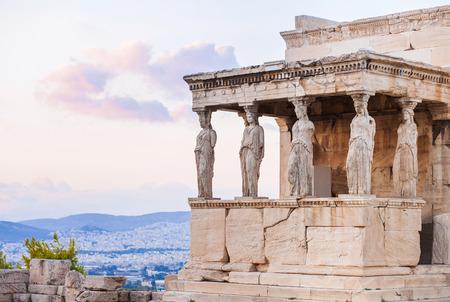 sien: Detalle del Erecteion en la Acr�polis de Atenas, Grecia