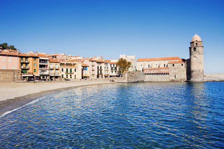 Collioure, Mediterranean village in the South of France
