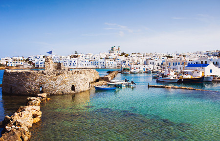 Greek fishing village Naousa, Paros island, Greece