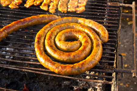 Sai-Aou  Northern Thai style grilled sausage