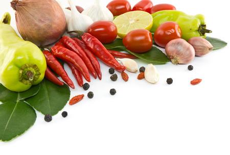 Aziatische Ingrediënten Stockfoto