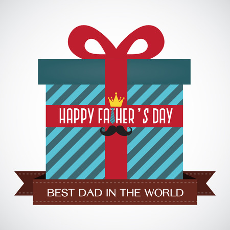 concept day: Happy Fathers Day - Gift For Dad