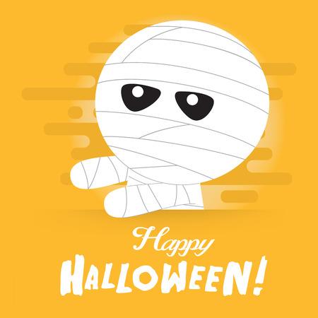 Halloween zombie achtergrond