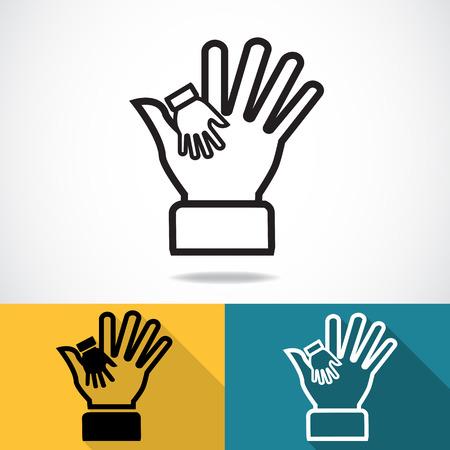 Hand in hand, Helpende handen