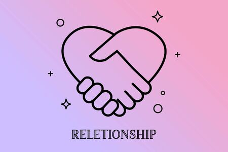 Hands in form of heart, hands together, Reletionship concept.