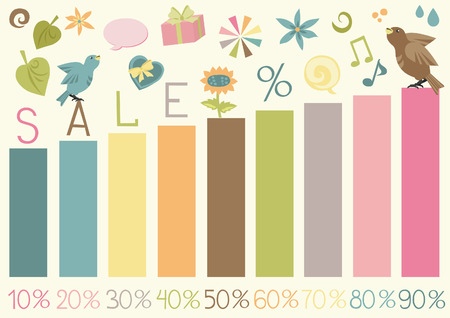 Set Signs of Sale Stock Vector - 4719107