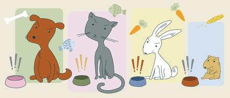 sullen: Gli animali affamati arrabbiati e loro ciotole