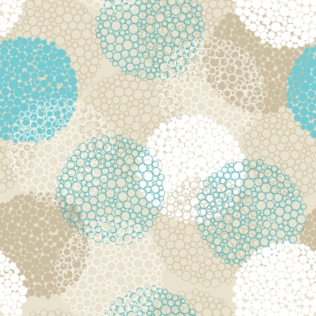 circles pattern: abstract seamless pattern Illustration