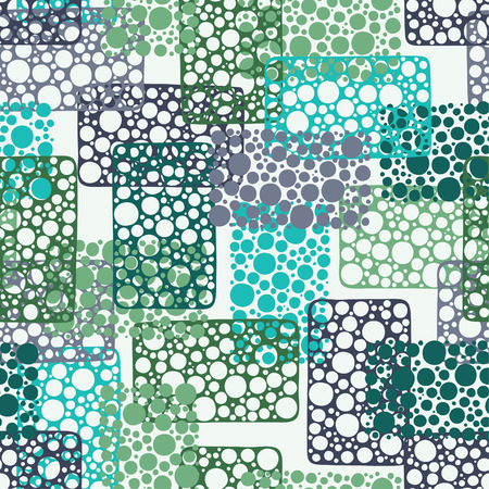 textile design: abstract seamless pattern Illustration