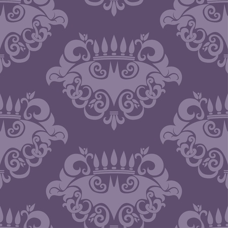 old fashioned: Seamless retro background with bat pattern Illustration